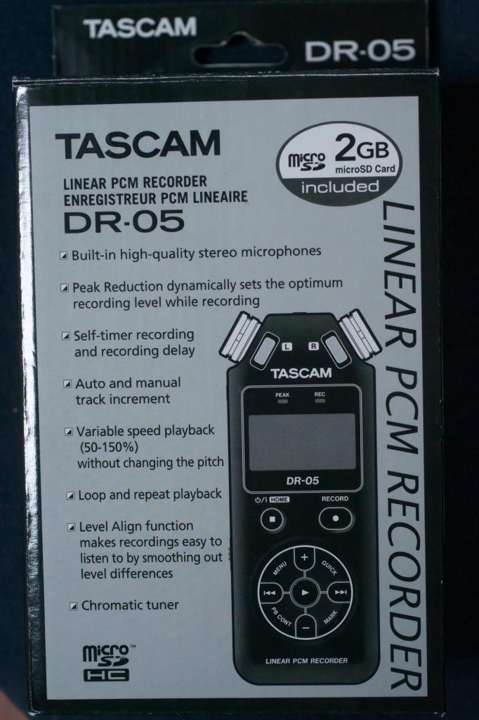 pcmレコーダー dr-05 ファームウェア