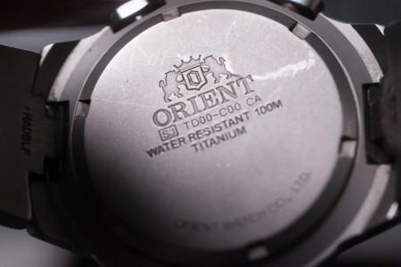 ORIENT chronograph TITAN