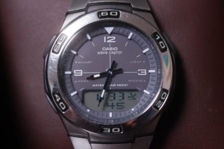 CASIO WAVE CEPTOR WVA-105