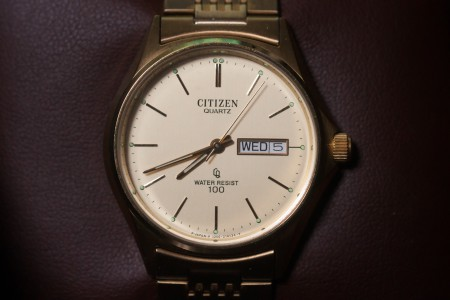 CITIZEN CRYSTRON WATER RESIST 100