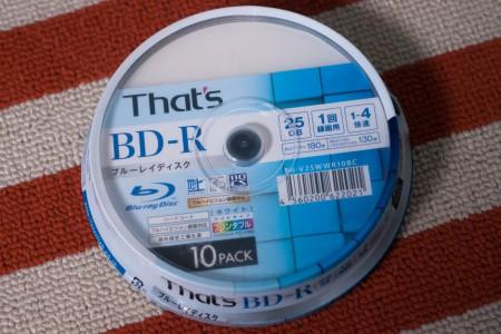 Blu-rayドライブ、書き込めず