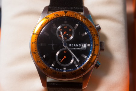BEAMS 1/100 SEC CHRONOGRAPH