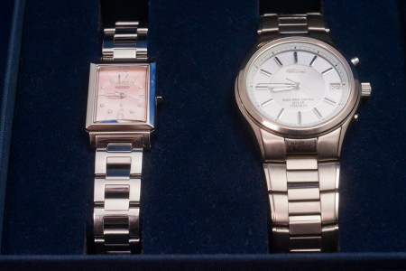 SEIKO SPIRIT&LUKIA PAIR WATCH