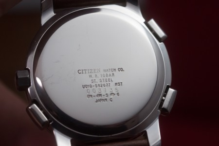 CITIZEN ALTERNA WORLDTIME CHRONOGRAPH