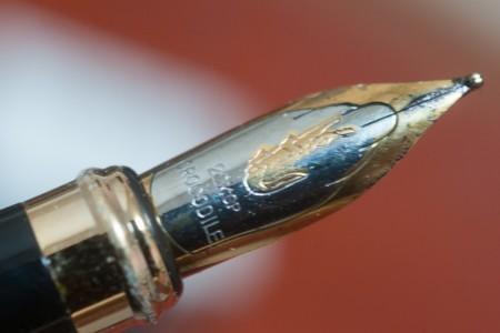 クロコダイルの万年筆