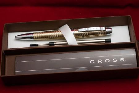 CROSS C-SERIES セレクチップローラーボール シャンパンゴールド AT0395-2