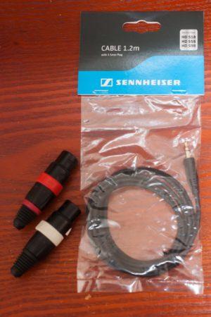 HD598のバランスケーブルを製作