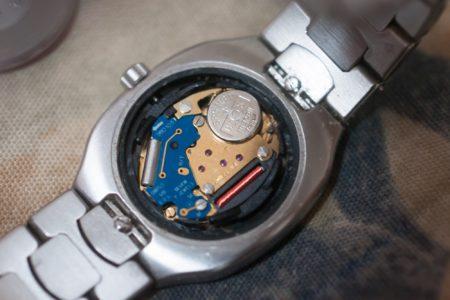 Omega Seamaster Polaris、電池交換