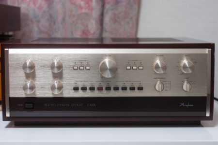 Accuphase C-200L、修理